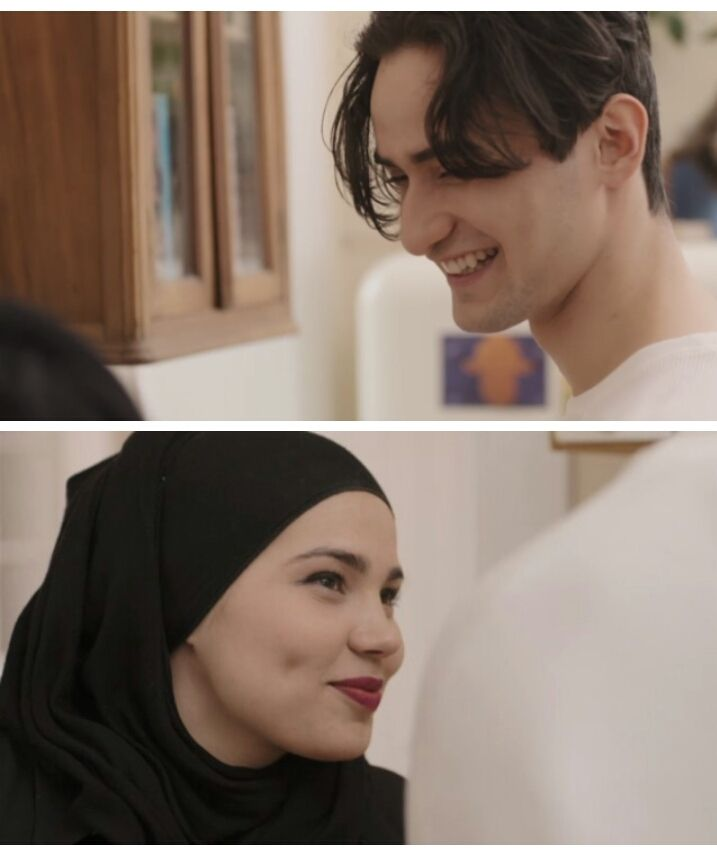 """Episode 1: """"You hate hanging out with us"""" Episode 3: """"How many children do you want"""" To be honest,I ship them more than Noorhelm already. I love Sana's smiling when she is with Yousef❤"""