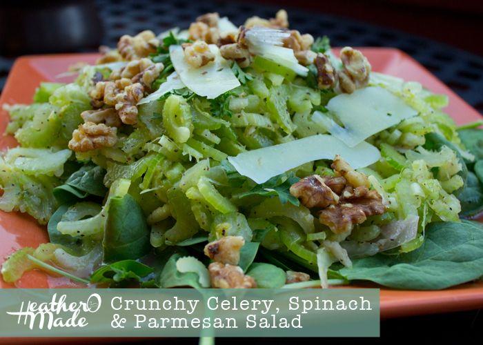 Parmesan Celery Salad Recipe — Dishmaps