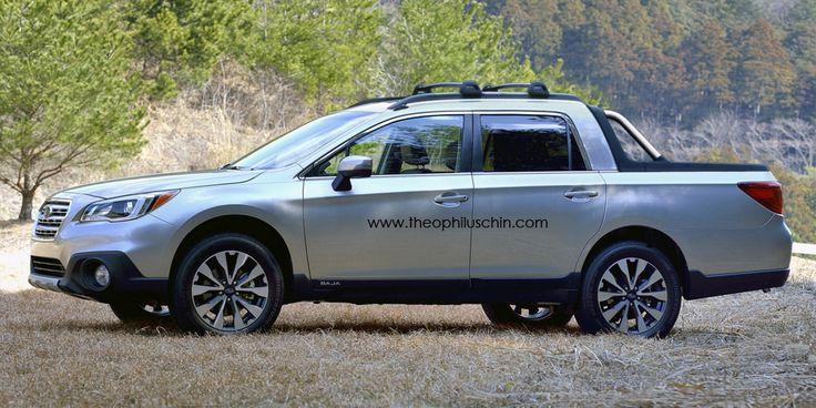 2016 Subaru Baja concept | Conceptual design | Pinterest | Subaru baja and Subaru
