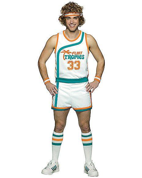 Adult Basketball Uniform Jackie Moon Costume - Semi Pro - Spirithalloween.com