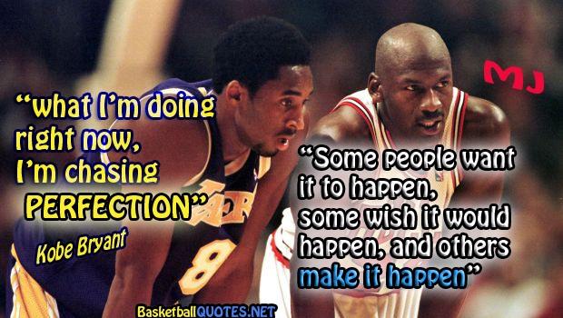 Young Kobe Bryant & Michael Jordan :)