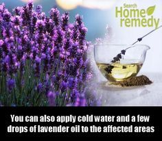 Lavender Oil to treat heat rash