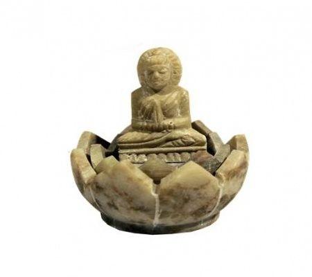 Wierookbrander Boeddha zeepsteen € 4,95