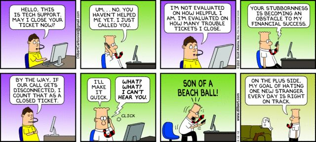 The Official Dilbert Website - This is one of my favorite Dilbert comics ever.
