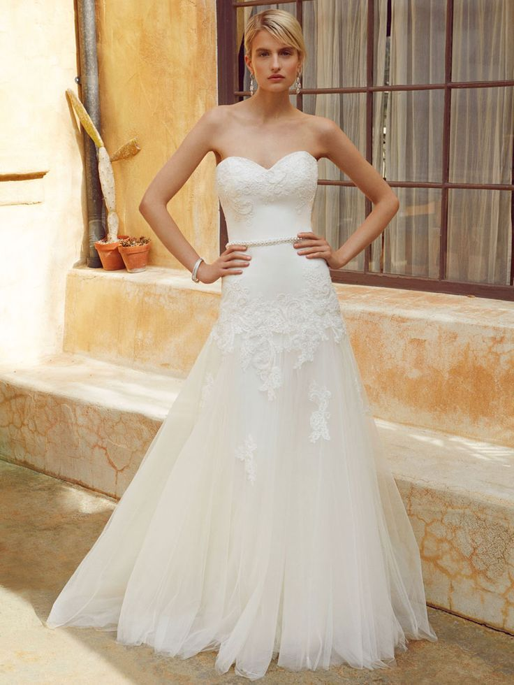 New at Uptown Bridal! Uptown Bridal & Boutique  www.uptownbrides.com Beautiful 2016, BT16-20 front view