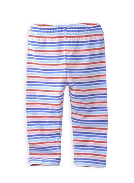 Pumpkin Patch - leggings - multi stripe 3/4 legging - S4TG60002 - milk - 12-18m to 6