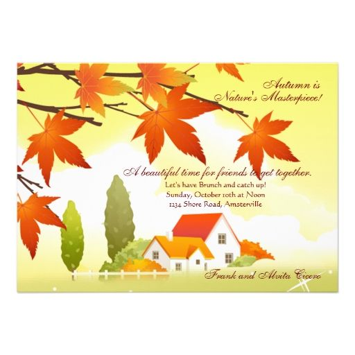 Best Thanksgiving Invitations Images On   Invitation