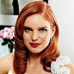Νυφικά χτενίσματα για Κόκκινα μαλλιά