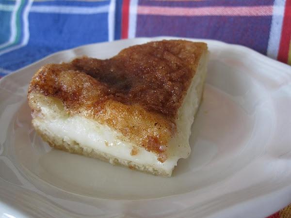 Almond Cream Cheese Squares | Eat.This | Pinterest