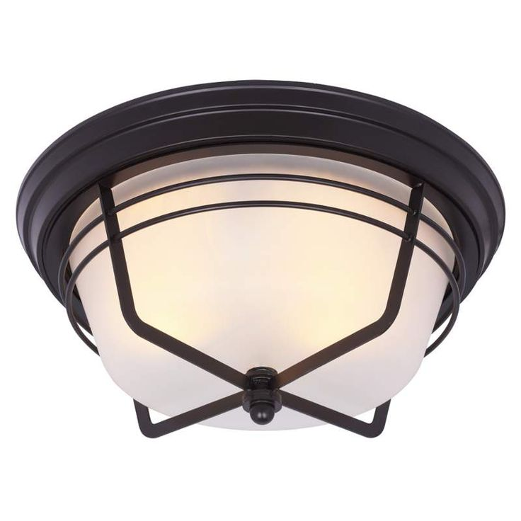 Westinghouse 6230300 Bonneville 2 Light Flush Mount Ceiling Fixture With  Frosted Weathered Bronze Indoor Lighting Ceiling Fixtures Flush Mount