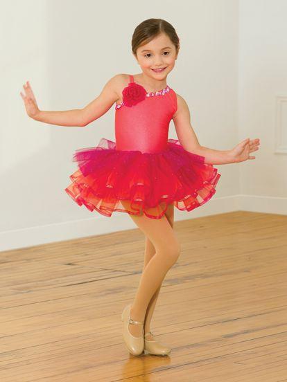 Bright and Beautiful - Style 598 | Revolution Dancewear Children's Dance Recital Costume