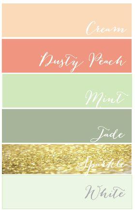 Proposed Color Palette