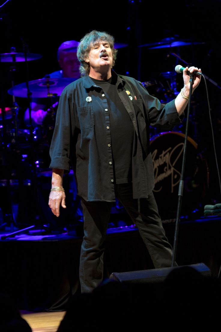 Burton Cummings performing at Massey Hall in Toronto for the 2014 Canada's Walk of Fame Festival.