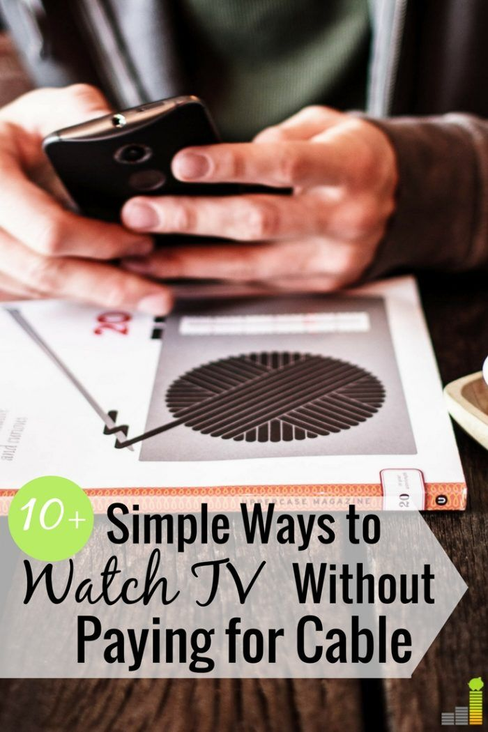 How To Watch Local Tv Without Cable Tv Without Cable Budgeting Money Ways To Save Money