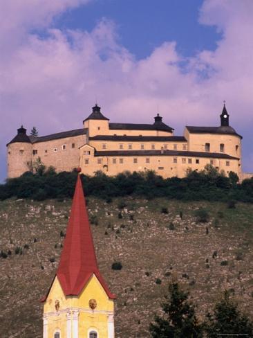 Krasna Horka Castle, Krasnohorske Podhradie, Near Roznava, Slovakia