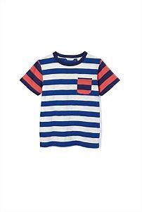 Mismatch Sleeve T-Shirt