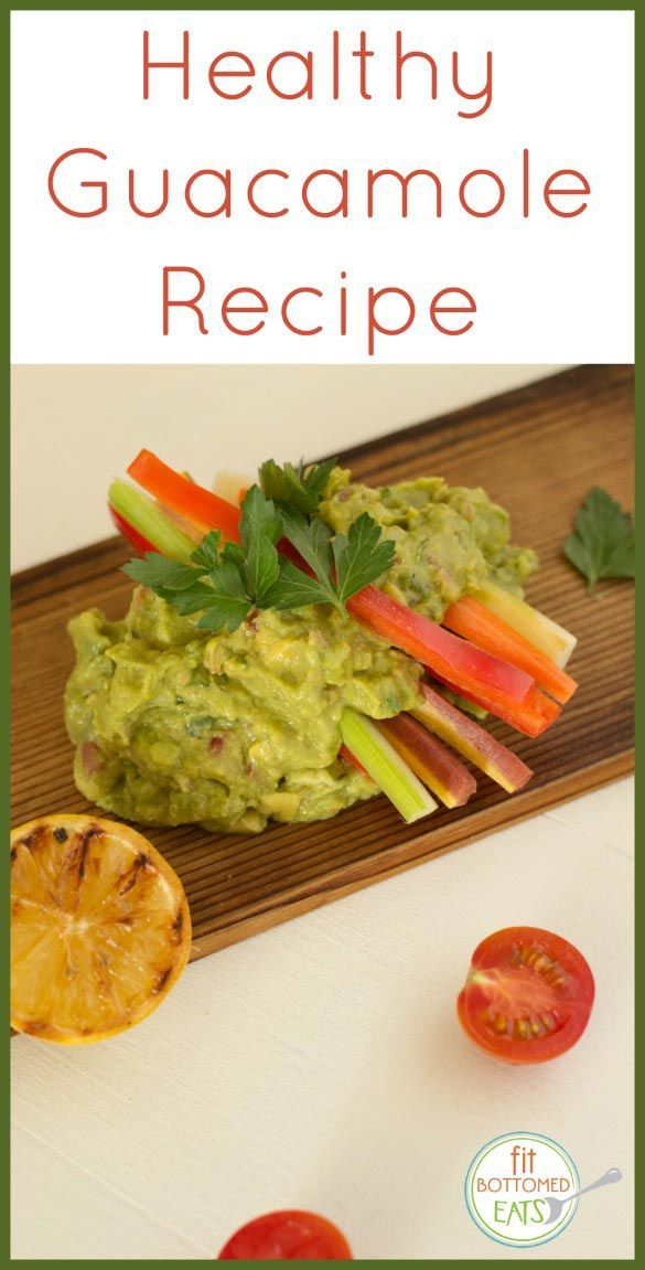 Can't get enough guac? Try this healthy guacamole recipe from Denise Austin.   Fit Bottomed Eats