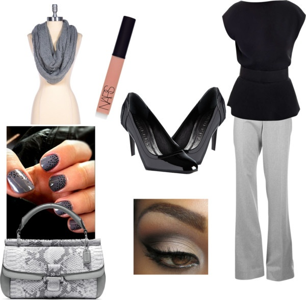 """""""Business Chic"""" by annika-godwin ❤ liked on Polyvore"""
