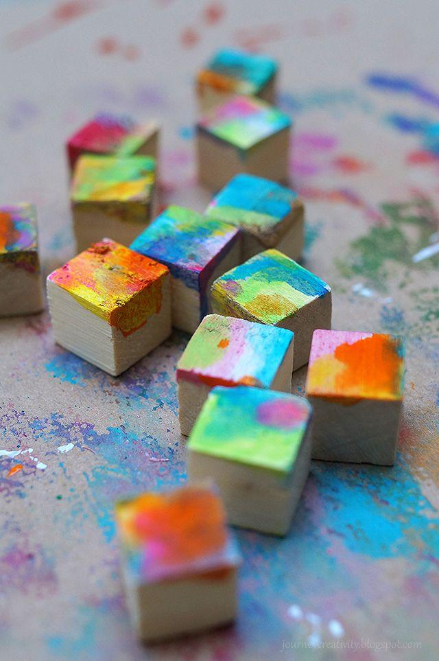 Colorful cube puzzle