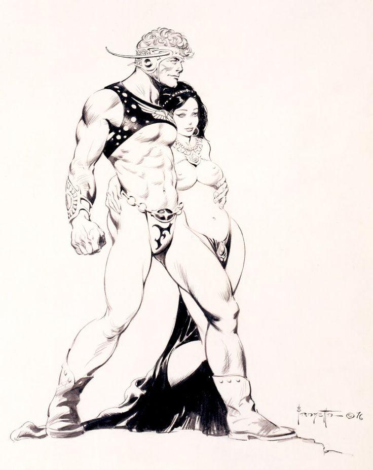 130 best Frank Frazetta images on Pinterest   Frank frazetta, Comic ...