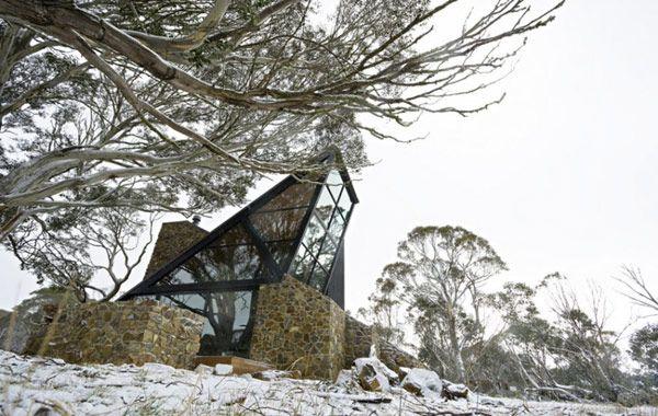 Under the Moonlight House in Australia: Residential Architecture, Giovanni Dambrosio, Dreams Home, Australia, Stones Houses, Mount Hotham, Giovanni D Ambrosio, Houses Design, Moonlight Houses