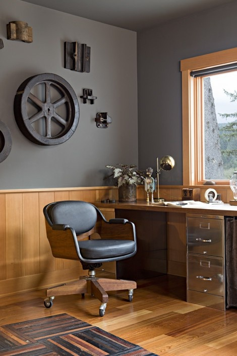 masculine home office. oregon coast home industrial office portland jessica helgerson interior designnice filing cabinet desk with the chrome masculine t