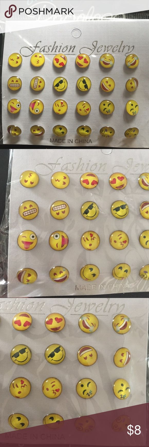 Emoji Earrings Never worn! Just received by mail order.  !No Trades! >>Price : Negotiable! > Make an Offer ! Jewelry Earrings