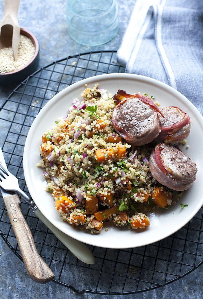 Őszi quinoa saláta | Dolce Vita Blog