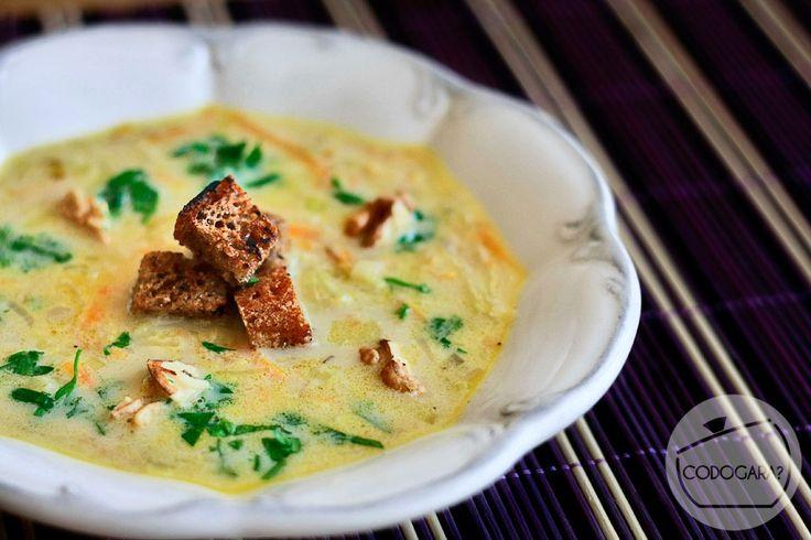 Zupa porowa | Przepisy kulinarne - Codogara.pl | Leek soup http://www.codogara.pl/10071/zupa-porowa/