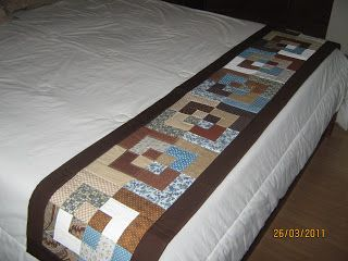 Ana Carol Patchwork: Peseira para cama