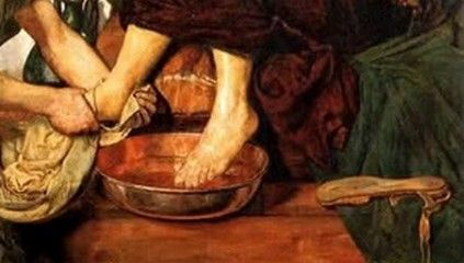 Taking our Share with Jesus - A Sermon for Maundy Thursday on John 13:1-17, 31-35