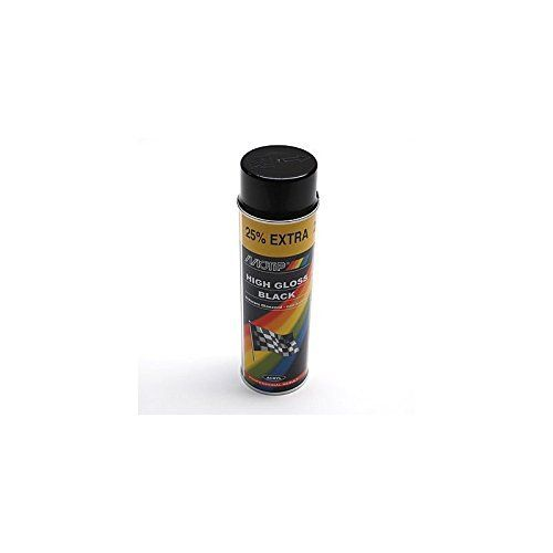 BOMBE DE PEINTURE MOTIP PRO ACRYLIQUE -BRILLANT NOIR spray 500ml (04005): BOMBE DE PEINTURE MOTIP PRO ACRYLIQUE BRILLANT NOIR spray 500ml…