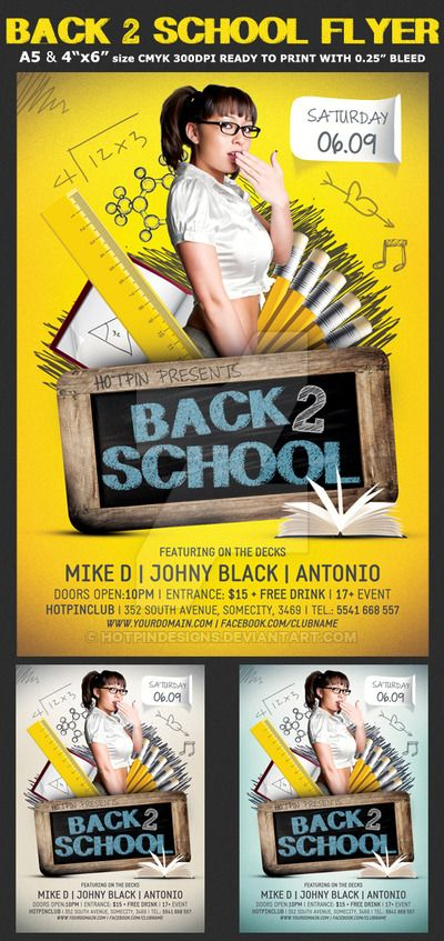 24 Best School Supply Drive Images On Pinterest | Flyer Template