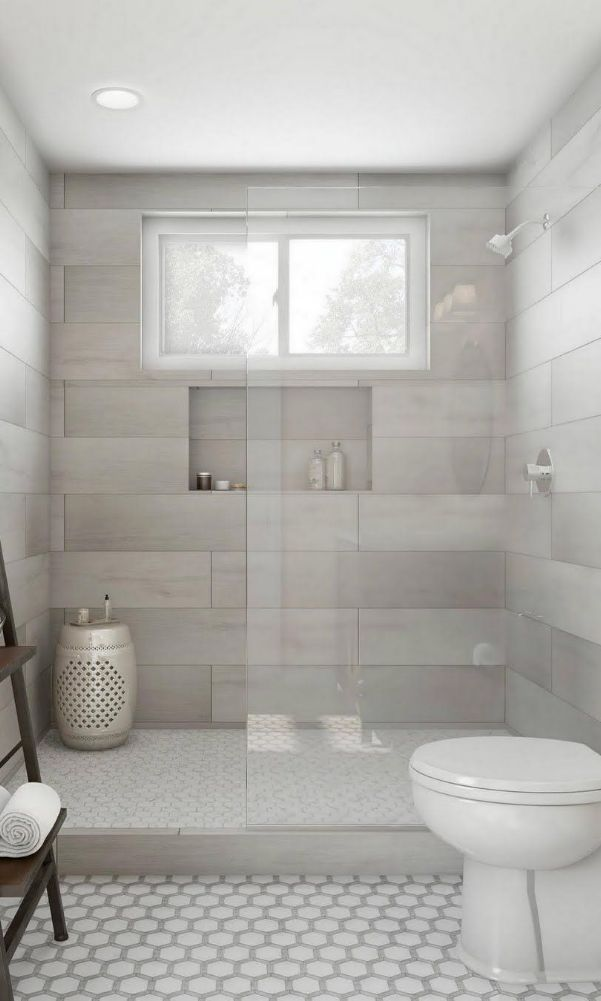 63 Luxury Walk In Shower Tile Ideas That Will Inspire You Page 29 Of 63 With Images Small Bathroom Remodel Shower Tile Bathroom Remodel Master