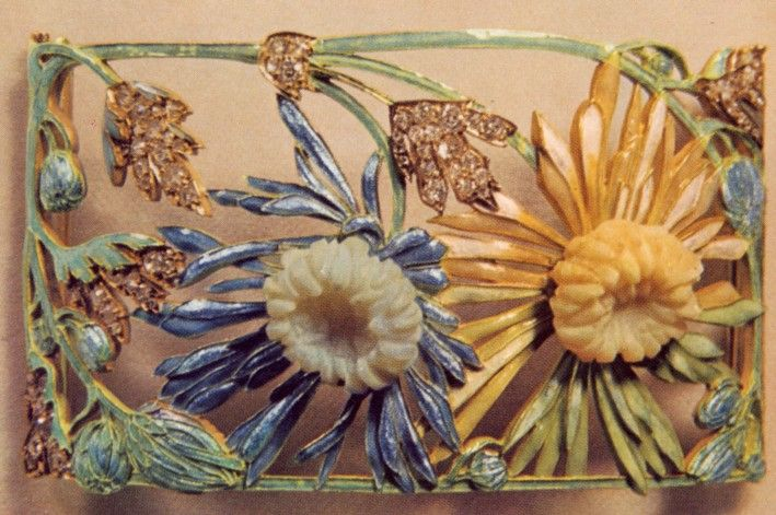 René Lalique. Plaque for a collier de chien.