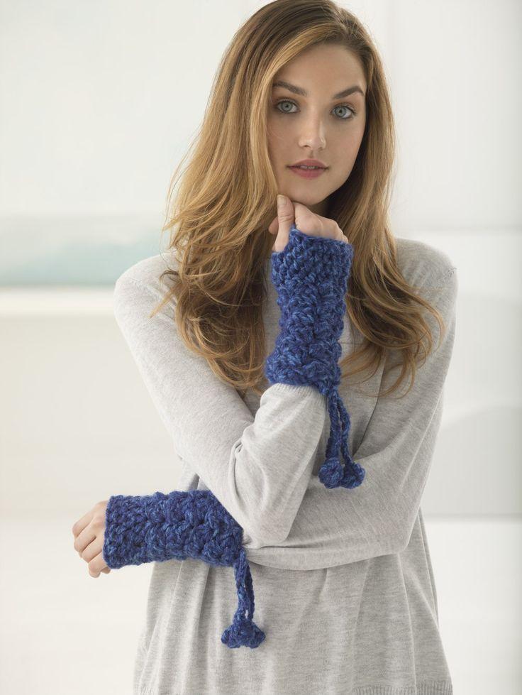 97 besten Crochet mittens/gloves Bilder auf Pinterest   Handschuhe ...