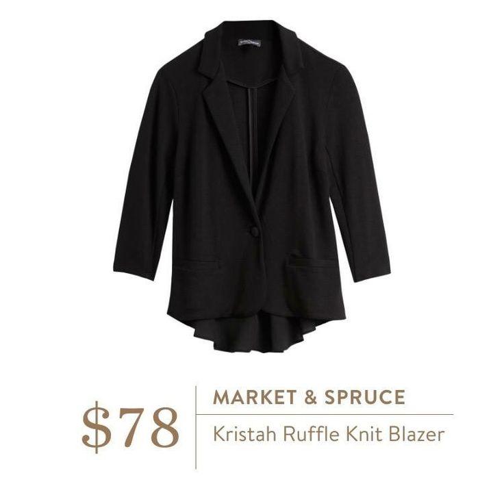 Stitch fix stylist! I NEED a comfy & cute blazer.