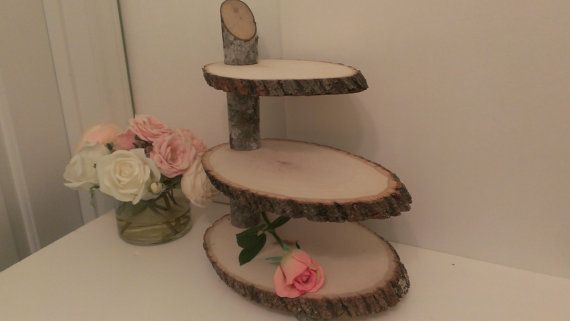 wood slab for wedding cake rustic cupcake stand wood slab cake stand wood slice 27613