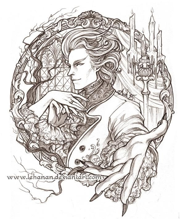 """The Gentleman with the Thistle-Down Hair by Lehanan at deviantart.com (""""Jonathan Strange & Mr. Norrell"""")"""