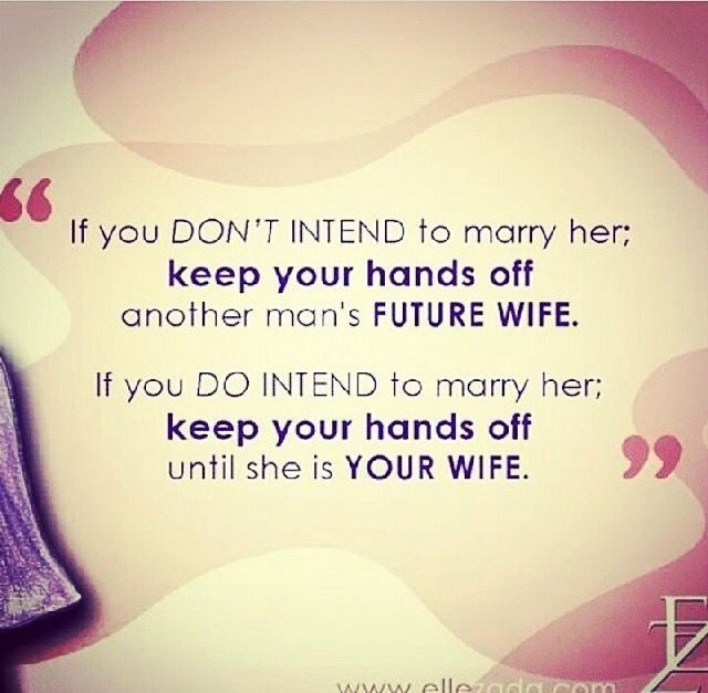 Halal Love Only Starts After Marriage :)