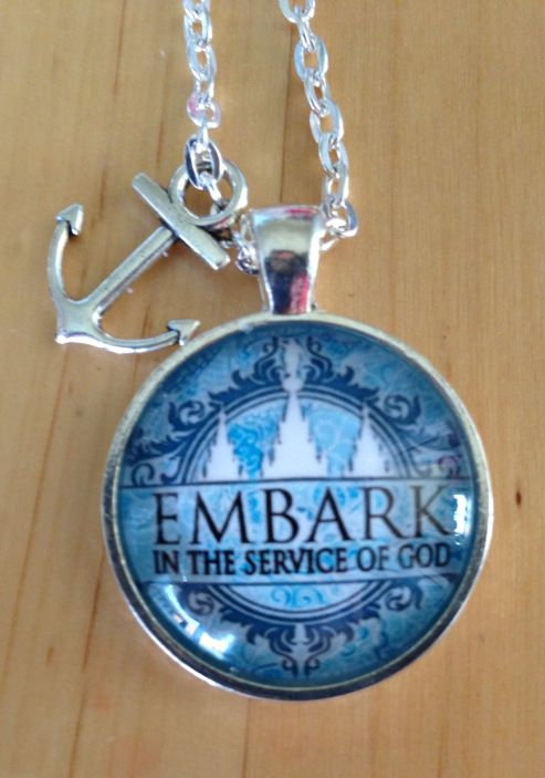 Best Christmas Gifts For Young Women Part - 42: Embark In The Service Of God Pendants - Great Gift For Young Women!