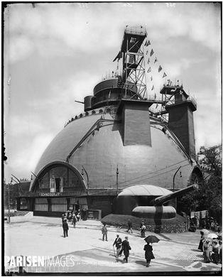 Exposition universelle de 1900. La coupole du Creusot. Paris, 1900.