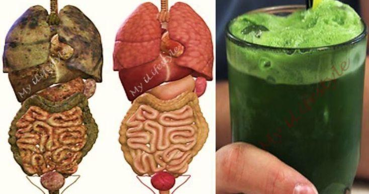 Super zelený detoxikačný džús, čo odstráni z tela tuky a všetky toxíny