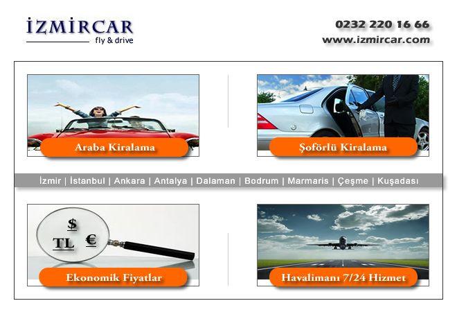 İzmir 'de, tatil ve iş seyahatleriniz için araç kiralama ya da transfer hizmeti talep etmek isterseniz bizi arayın.