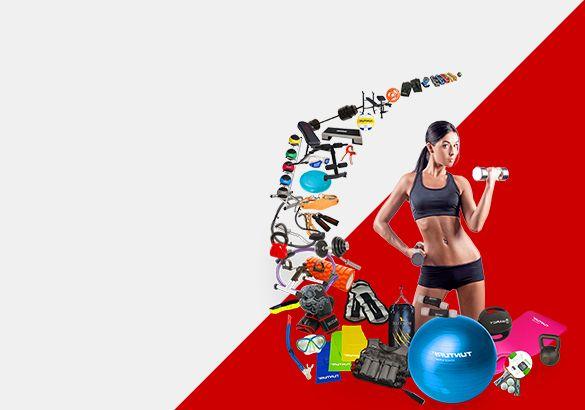 Аксессуары для фитнеса купить в Украине