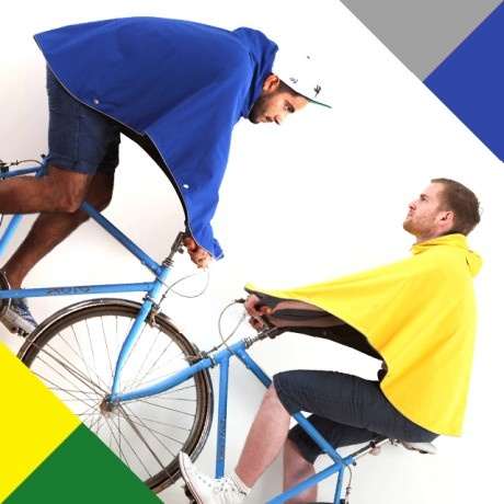 Dedicated urban cyclist, Otto Lauterbach, this is waterproof kit for fashionistas.