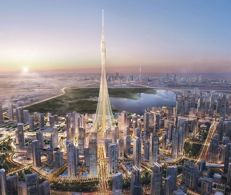 The Tower DCH / Dubai (Gallery) - Santiago Calatrava – Architects & Engineers