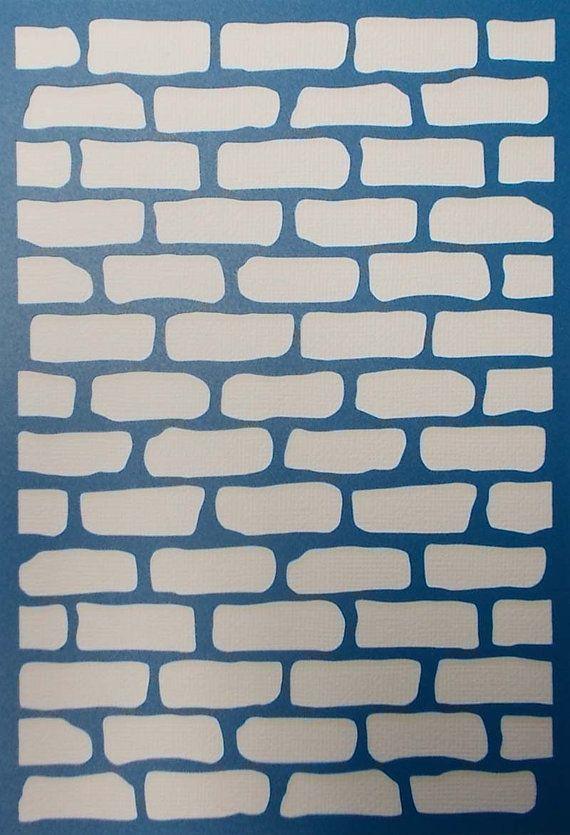 Plantilla de fondo de pared de ladrillo