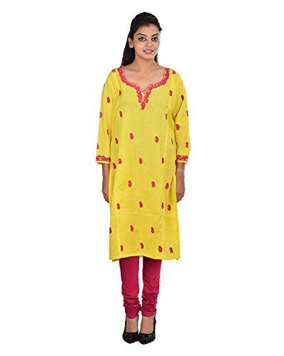 Damyantii Women's Plus Size Straight Large Size Yellow Ku... http://www.amazon.in/dp/B011LCDTPI/ref=cm_sw_r_pi_dp_x_n7CQxb1JC6CKC