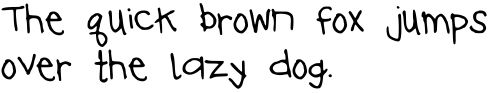 Handwriting font creator - free and quick!!